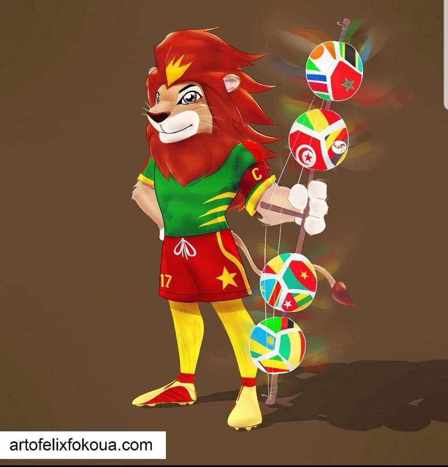 2ème mascotte proposée par felix Fokoua